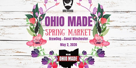 Ohio Made Spring Market - DogTap Columbus tickets