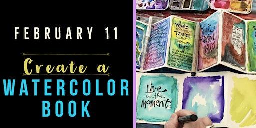 Create a Watercolor Book - Create Art on Tuesdays