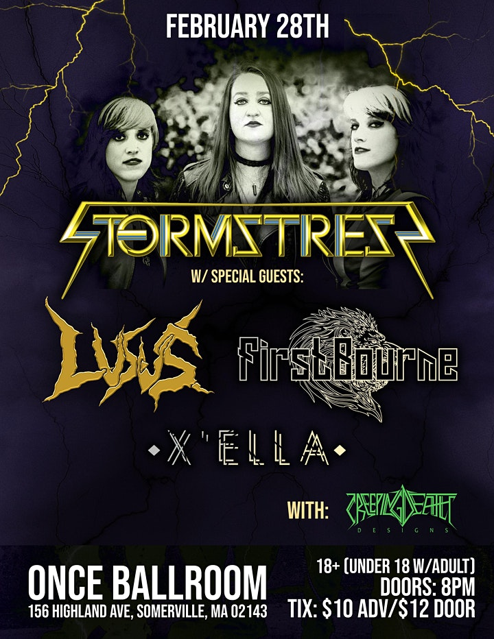 STORMSTRESS DEBUT SHOW image