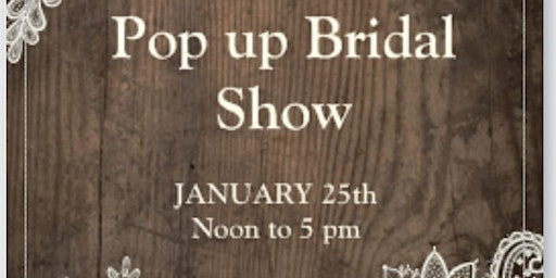 Windy Hills Creations Pop Up Bridal Expo Show
