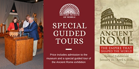 Ancient Rome Guided Tour tickets