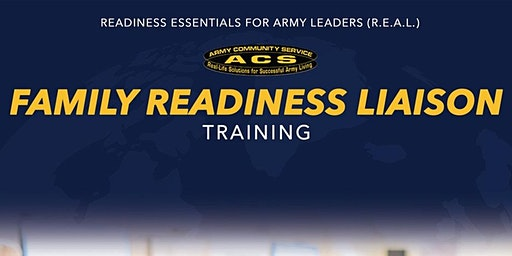 R.E.A.L Soldier and Family Readiness Liaison Training