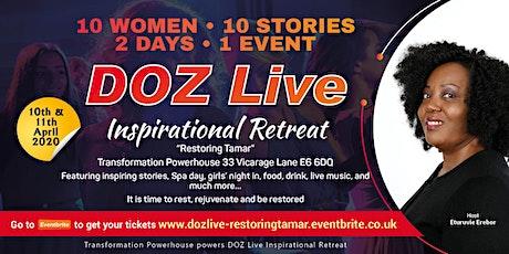 DOZ Live - Restoring Tamar tickets