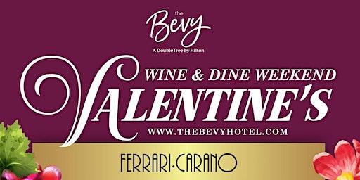 Ferrari Carano Wine Dinner ~ Wine & Dine Weekend