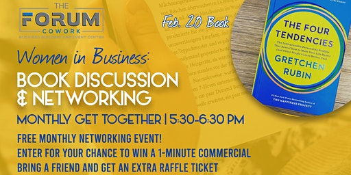 Women in Business: Book Discussion & Networking