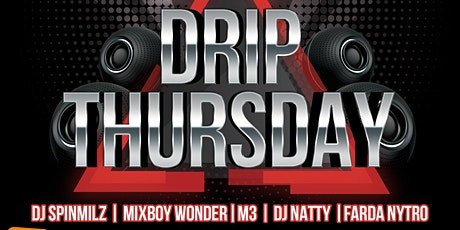 DripThursday @boxparkwembley this thursday inside beatbox with DJ SPINMILZ  tickets