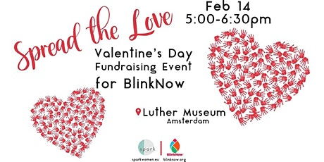 Spread the Love Valentine's Day Fundraising Event for BlinkNow tickets