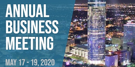 2020 Annual Business Meeting tickets