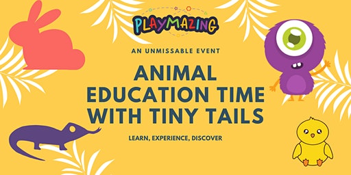 Animal Education Time with Tiny Tails hosted by PlayMazing