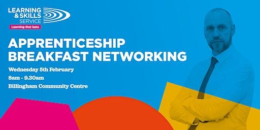 Apprenticeship Breakfast Networking