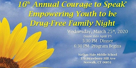 16th Annual Courage to Speak Family Night tickets