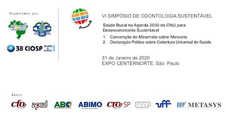 Saúde Bucal na Agenda 2030 da ONU para o Desenvolvimento Sustentável ingressos