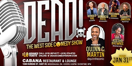 DEAD! - Comedy Show tickets