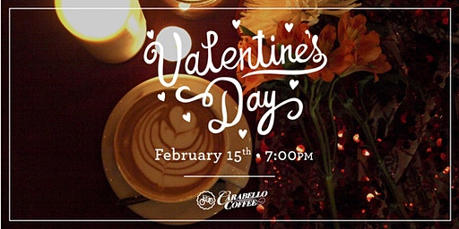 February 15th Special Valentine's Day Seating @ 7PM