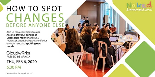 How to spot changes before anyone else? with Professor Antonio Davila