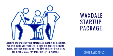 Pitch to digitize and market your startup quickly (Monday-Sunday 7:45 pm). tickets
