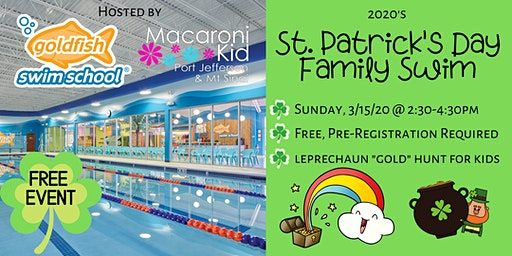 Macaroni Kid's St. Patrick's Day Gold Hunt & Family Swim