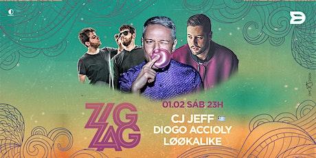 ZIGZAG / CJ Jeff e Diogo Accioly ingressos