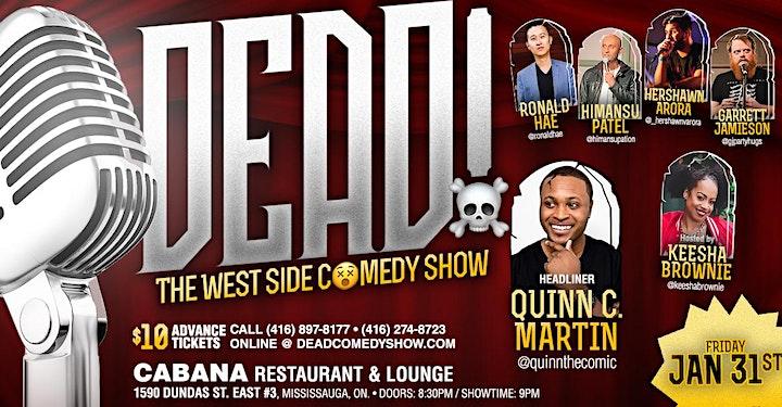 DEAD! - Comedy Show image