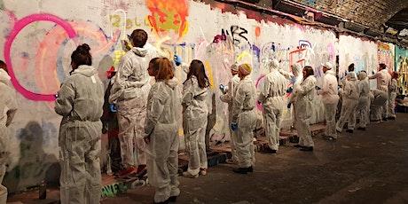 #LeakeStreetLIVE Valentines Inspired Graffiti Workshop (for Singles) tickets