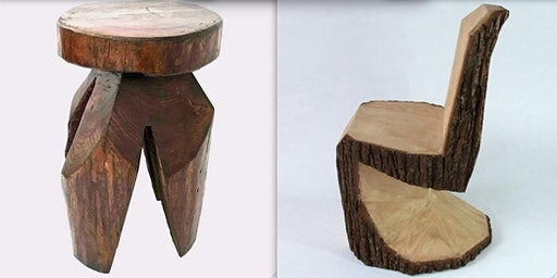 Wild Woodworks:  Make a Seat; Take a Seat