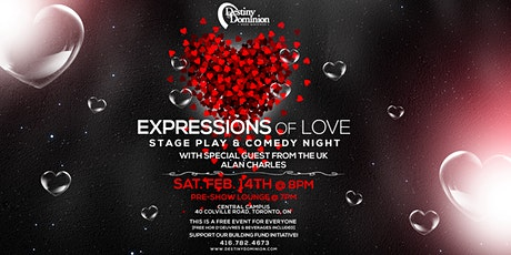 """Expressions of Love"", Stage Play & Comedy Night tickets"