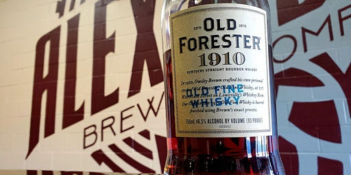 Old Forester Whiskey Row Series Bourbon Tasting