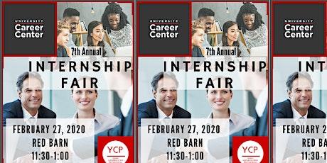 YCP 7th Annual Internship Fair : For-Profit tickets