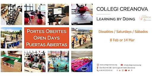 CREANOVA - Jornada Portes Obertes / Open Day / Jornada Puertas Abiertas