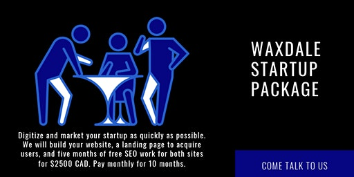Pitch to digitize and market your startup quickly (Monday to Sunday 5 pm).