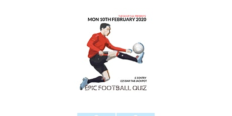 Epic Football Quiz 2020 tickets