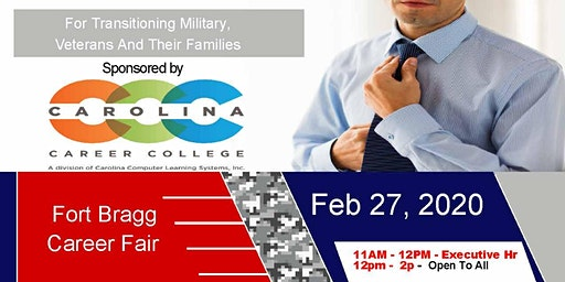 Fort Bragg Veteran Job Fair - Feb 2020