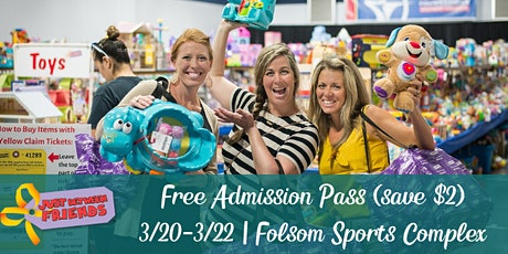 General Admission (FREE) | Just Between Friends Folsom | Spring 2020 tickets