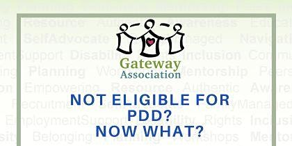 Not Eligible for PDD? Now What? - A Transition Resource Fair