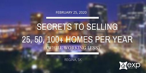 Secrets to Selling 25, 50 & 100+ Homes in 2020 (free lunch & learn)