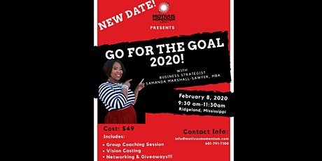 GO FOR THE GOAL 2020! tickets