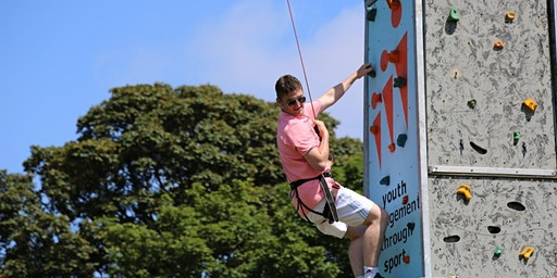 CLIMBATHON -  Portable Climbing Wall Fundraiser for the Sligo Climbing Club