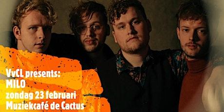 MILO, liveconcert van een alternatieve pop/rockband uit Zwolle tickets