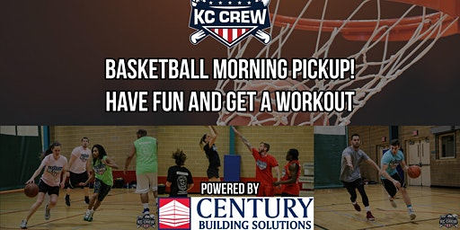 Basketball pickup powered by Century Building Solutions