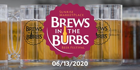 Brews in the Burbs 2020 tickets