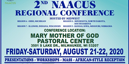 2ND NAACUS Regional Conference on August 21-22, 2020 in Milwaukee Wisconsin