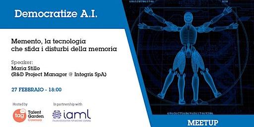 Memento, la tecnologia che sfida i disturbi della memoria