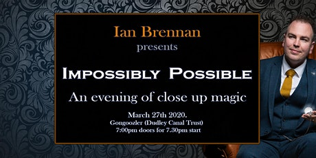Impossibly Possible with Ian Brennan, 27th March 2 tickets