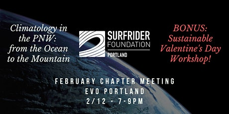 Climatology in the PNW & Sustainable Valentine's Day Workshop tickets