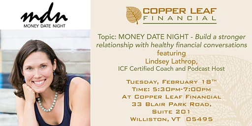 Money Date Night – Build strong, healthy financial conversations