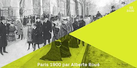 Conférence | Leizing : Paris 1900 (par/door Alberte Roué) tickets