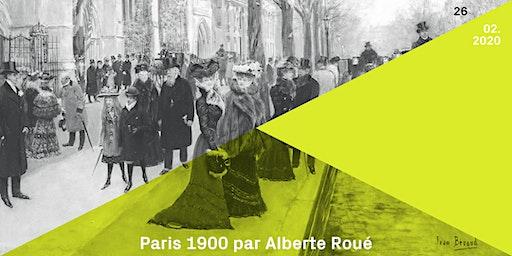Conférence | Leizing : Paris 1900 (par/door Alberte Roué)