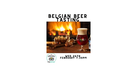 Belgian Beer Tasting at The Dovetail tickets