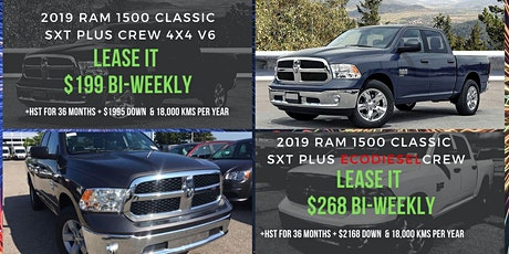 Ram 1500 Leasing Special Offers & Deals | Valid for 10 Days Only tickets