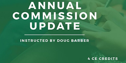 Colorado Springs - Annual Commission Update Class